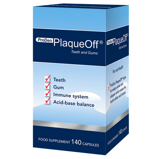 Reduce tartar with PlaqueOff