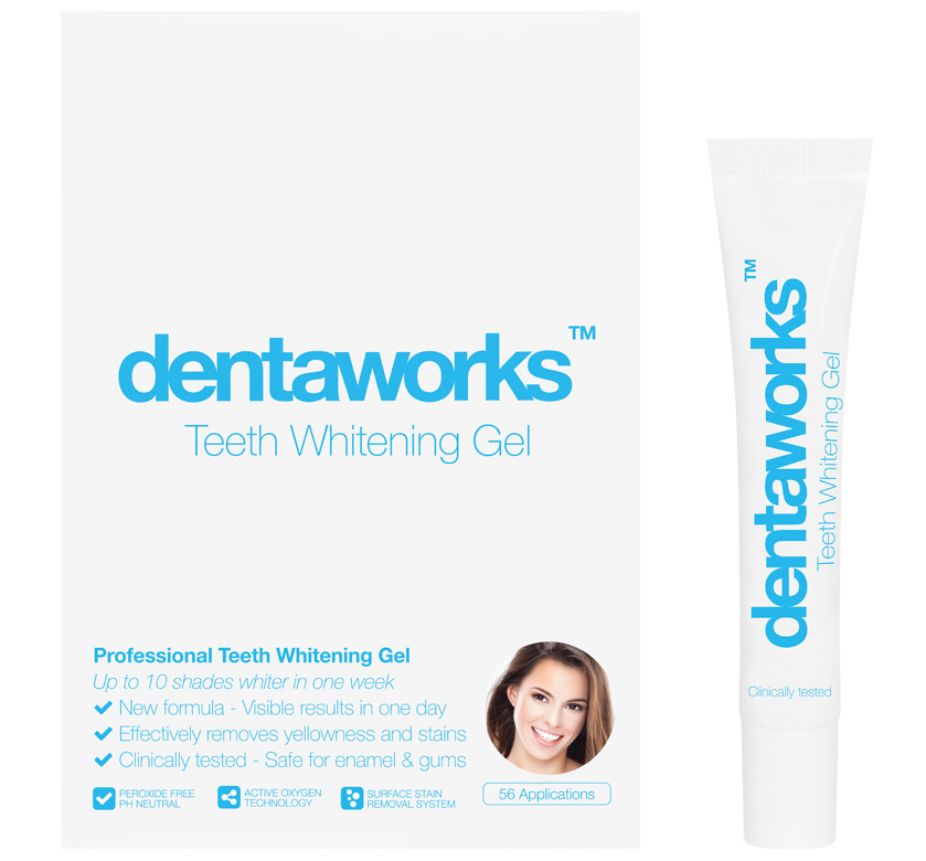 Dentaworks Tooth Whitening Gel